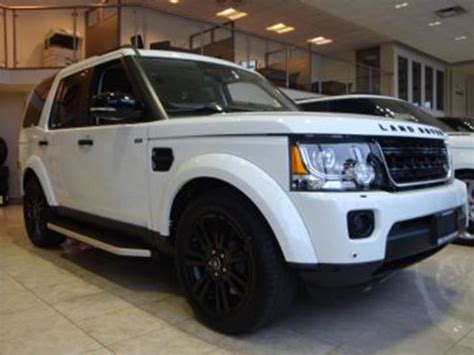 land rover lr4 white 2016 2016 land rover lr4 white lease busters wheels ca