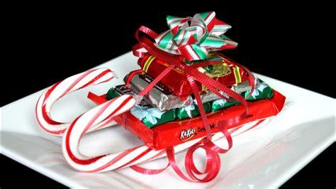 christmas candy cane sleigh   youtube