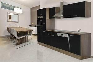 Küchenzeile 310 Cm : respekta k chenleerblock k che leerblock k chenzeile 310 cm eiche york schwarz ebay ~ Indierocktalk.com Haus und Dekorationen