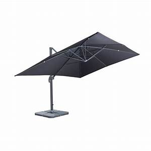 Parasol Rectangulaire Inclinable Wikiliafr