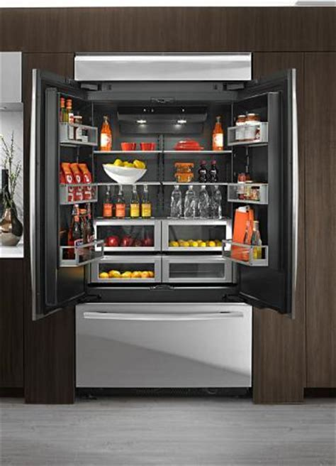 Luxury Inside and Out. Obsidian luxury refrigerators by