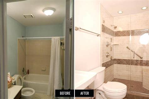 Before And After Small Bathrooms by Small Bathroom Remodel Before And After Bathroom