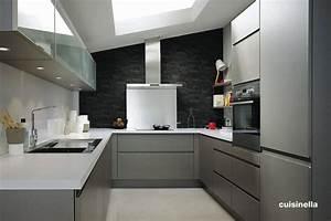 Credence Cuisine Moderne : credence cuisine sans meuble haut cr dences cuisine ~ Dallasstarsshop.com Idées de Décoration