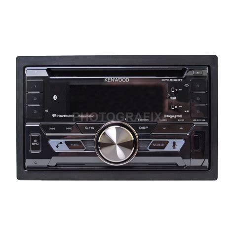 kenwood doppel din kenwood dpx502bt din cd bluetooth car stereo satellite radio tuner ebay