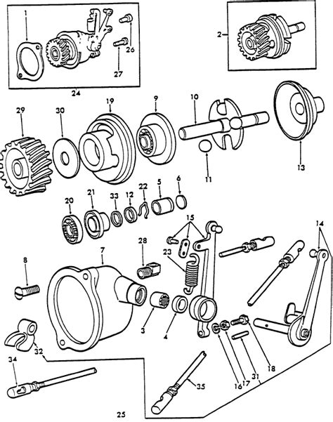1954 Ford 8n Wiring Diagram by Ford 8n Governor Parts Diagram Downloaddescargar