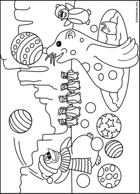 Pingwing Kleurplaat by Kleurplaat Pinguin Met Ijsje Tropicalweather