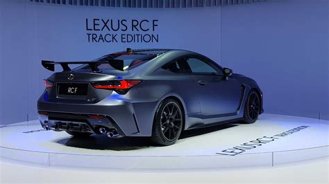 lexus rc  track edition revealed car magazine