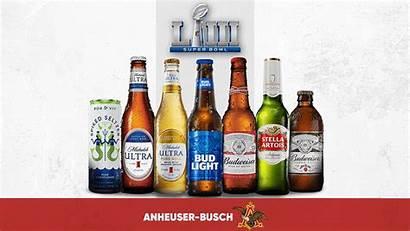 Anheuser Busch Brands Bowl Super Budweiser Alcohol