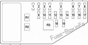 Fuse Box Diagram  U0026gt  Chrysler Cirrus  1994