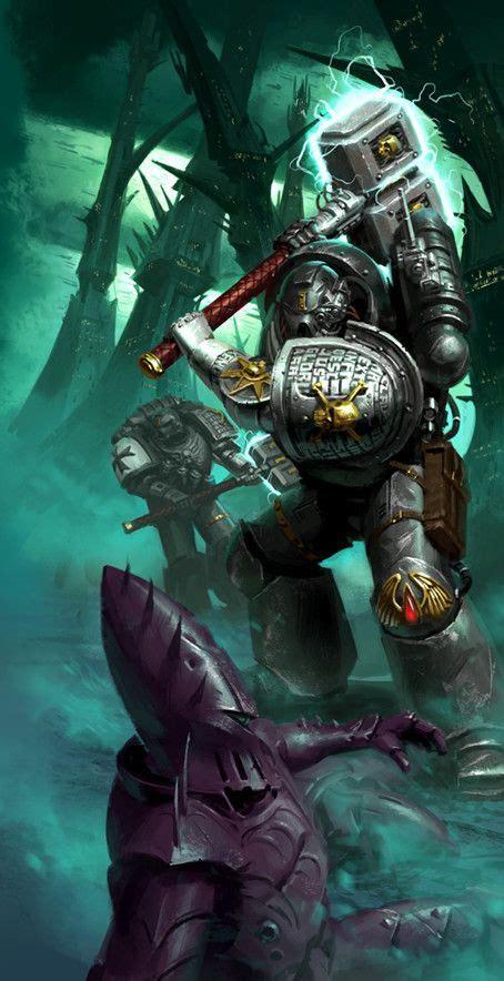 Pictures and wallpapers for your desktop. Deathwatch vs Dark Eldar by Jon Cave