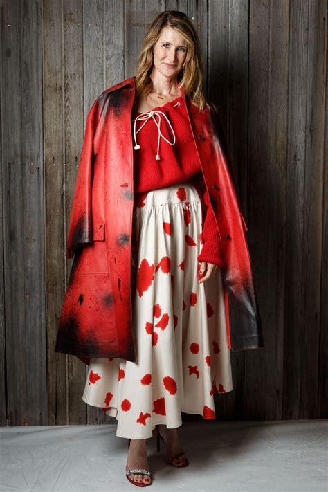 Laura Dern Calvin Klein Show Nyfw