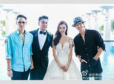 PHOTOS Ken Chu of F4 Ties the Knot, Jerry Yan and Vaness