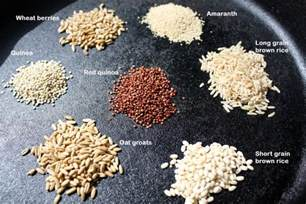 Whole Grain Foods Examples
