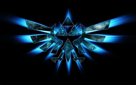 Triforce L by Fond Ecran Triforce Wallpaper The Legend Of Jeux