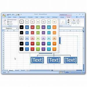How To Insert Smartart Charts In Microsoft Excel 2007