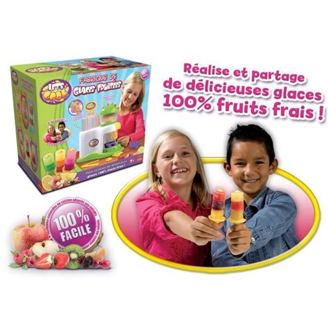 jeux de cuisine de glace fabrique de glace fruitée achat vente dinette