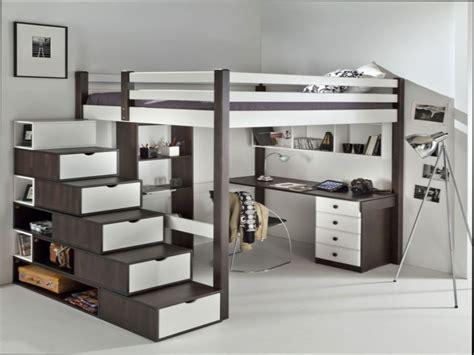 chambre fille lit mezzanine chambre ado noir et blanc deco de chambre noir et blanc u