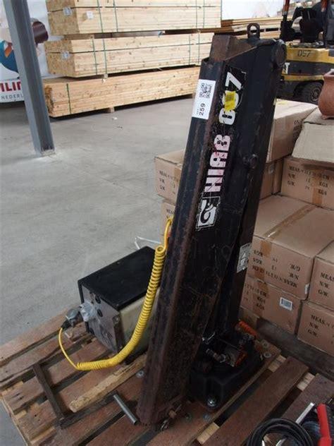 hiab kraan 007 laad loskraan hiab 007 ingeschoven 770 kg u