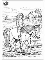 Pages Coloring Horse Riding Horses Farm Dog Horseriding Colouring Printable Scene Running Horseback Adult Drawings Funnycoloring Rider Sheet Sheets Mandala sketch template