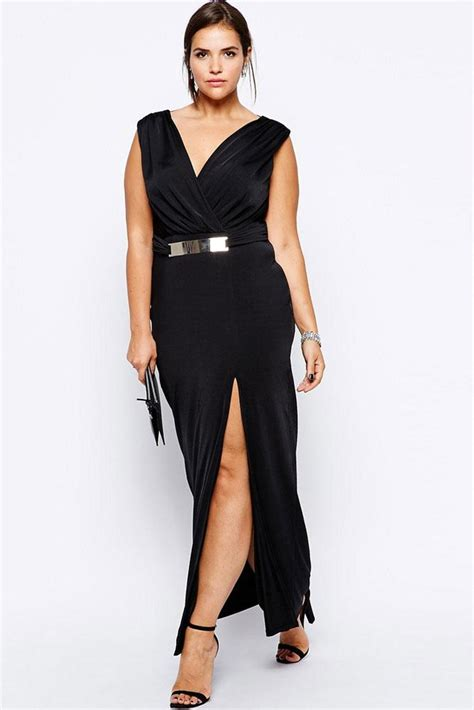 big size women sexy  size long maxi dress formal party
