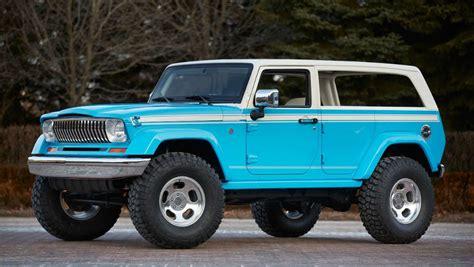 car jeep jeep reveals seven concept cars for 2015 moab safari car