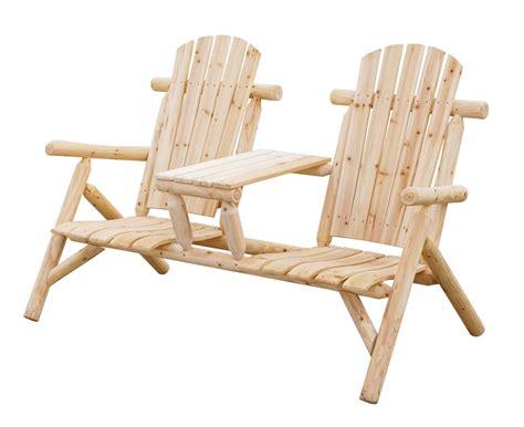 gartenbank  sitzer bank mit tisch timber nadelholz