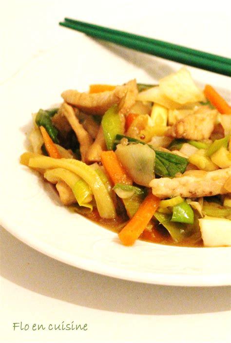 cuisine au wok poulet flo en cuisine wok au poulet