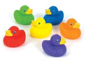 Colored Rubber Duck