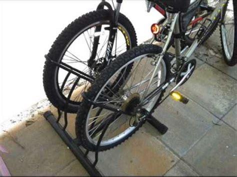 standing bike rack racor pbs 2r two bike floor bike stand garage bike rack