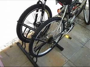racor pbs 2r two bike floor bike stand garage bike rack With racor pbs 2r two bike floor bike stand