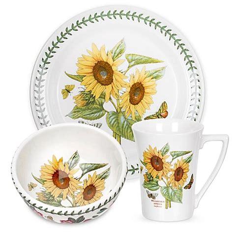 portmeirion botanic garden sunflower dinnerware
