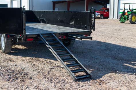 pj  tandem axle dump trailer happy trailer