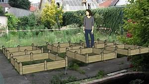 Carre De Jardin Potager : projet carre de potager mon potager en carr s ~ Premium-room.com Idées de Décoration