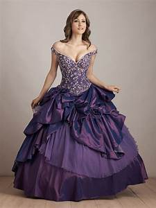 Purple wedding dresses to shine your wedding event for Purple dresses for weddings