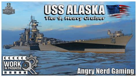 world  warships uss alaska tier  premium american