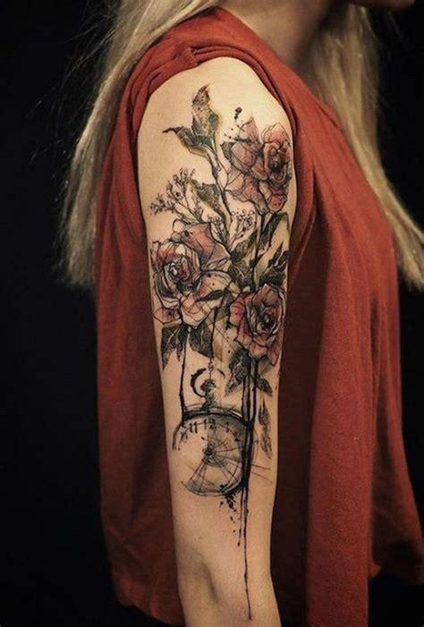 amazing sleeve tattoos  women  metal  ink