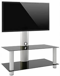 Tv Lowboard Rollen : vcm tv rack lowboard konsole fernsehtisch tv m bel glastisch tisch mobil fahrbar rollen schrank ~ Indierocktalk.com Haus und Dekorationen