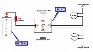 Horn Relay Diagram Wiring