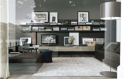 wall unit design for living room home design ideas cool bookcases poliform sintesi