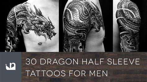 dragon  sleeve tattoos  men youtube