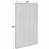 Pegboard Clear Craft Frosted Panel Azardisplays sketch template