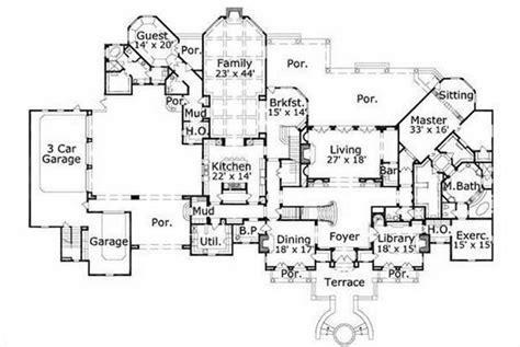 mansion house plans luxury mansion floor plans