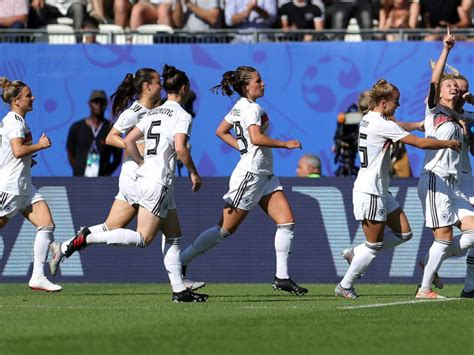 Women World Cup Germany Into Quarter Finals After Win