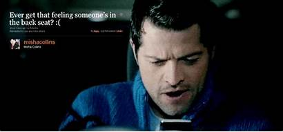 Castiel Supernatural Gifs French Mistake Misha Giphy