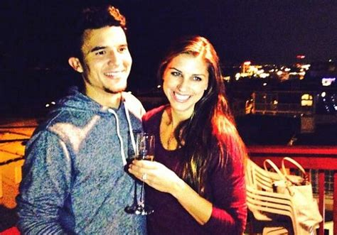 alex morgan engaged  boyfriend servando carrasco larry