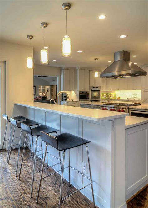 kitchen peninsula with seating photos hgtv