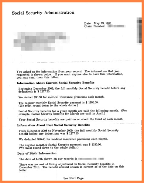 social security letter 10 social security benefits letter marital settlements