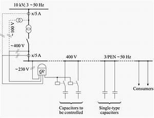 Control Wiring Diagram Of Apfc Panel