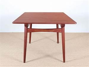 Table Scandinave Extensible : table de repas scandinave extensible 6 10 personnes mod le at 310 en teck galerie m bler ~ Teatrodelosmanantiales.com Idées de Décoration