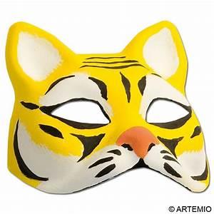Masque Pour Peinture : masque tigre pour carnaval id es et conseils masque et ~ Edinachiropracticcenter.com Idées de Décoration